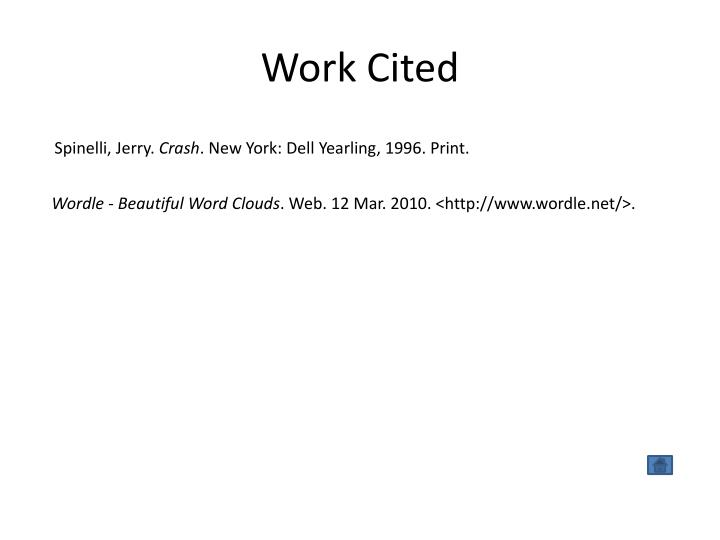Work Cited