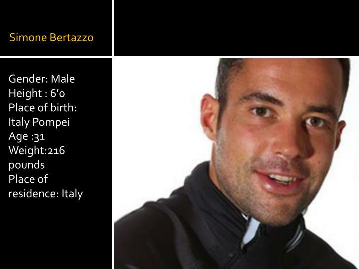 Simone Bertazzo
