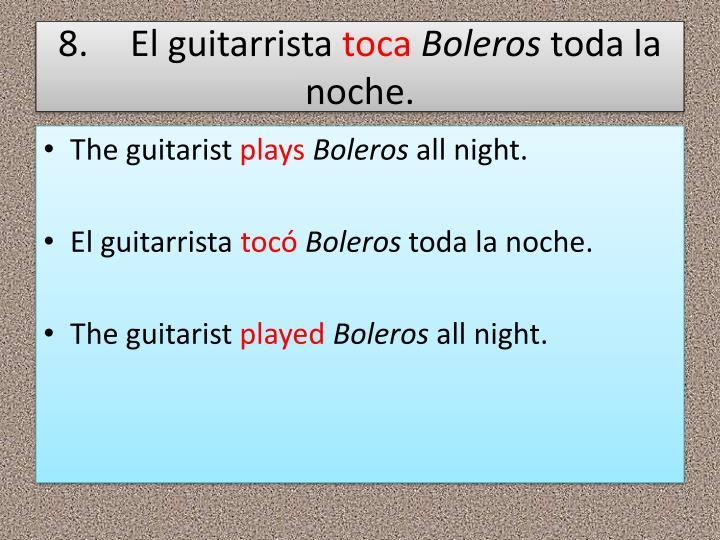 8.El guitarrista