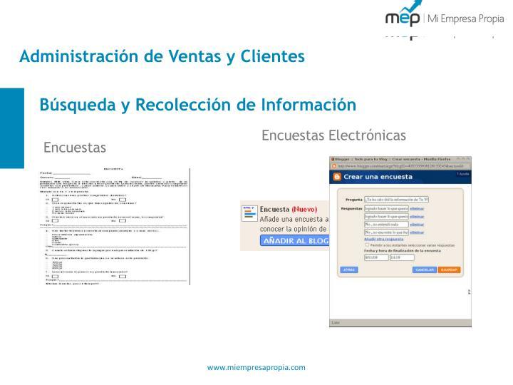 Administración de Ventas y Clientes
