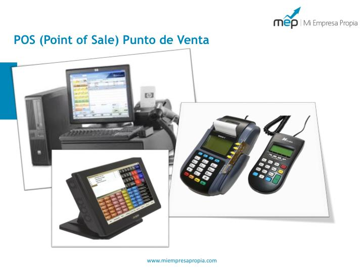 POS (Point of Sale) Punto de Venta