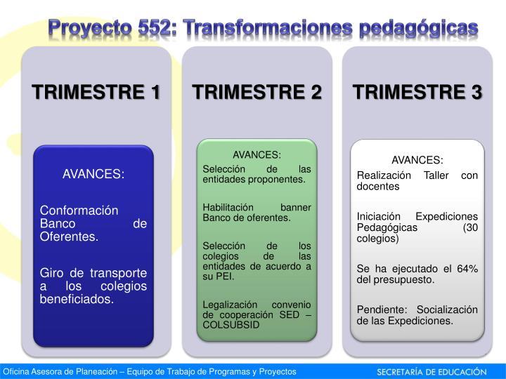 Proyecto 552:
