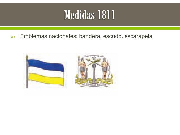Medidas 1811