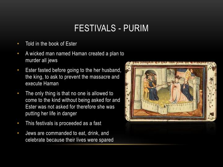 Festivals - Purim