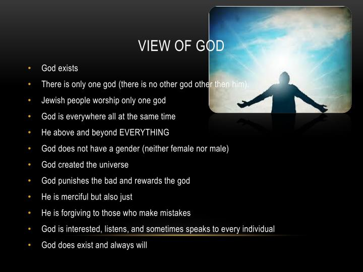 View of God