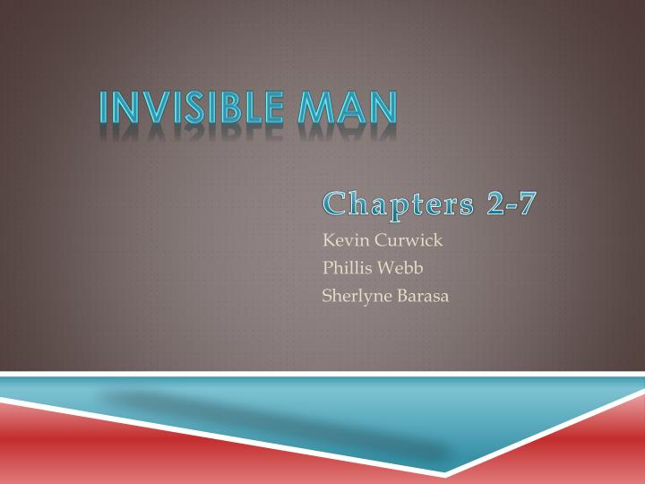 invisible man thesis statement