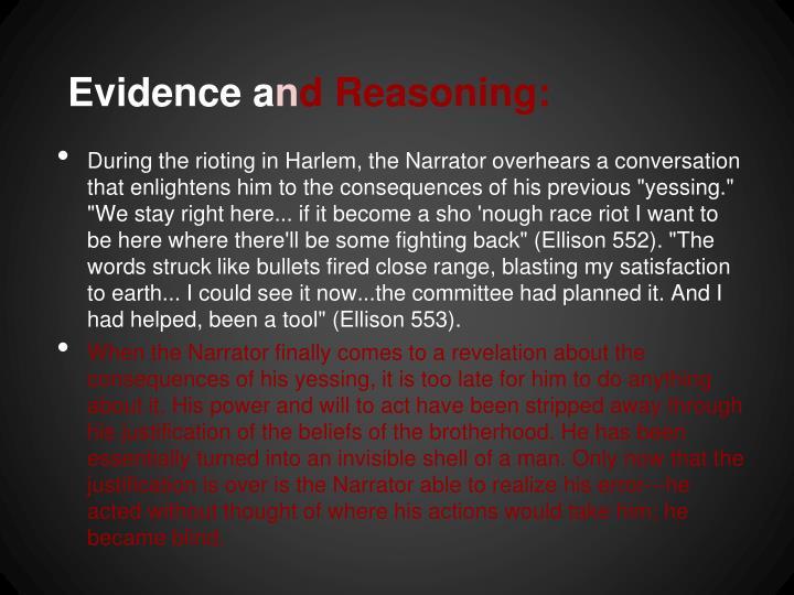 Evidence a