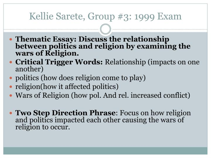 religion and the cause of war essay