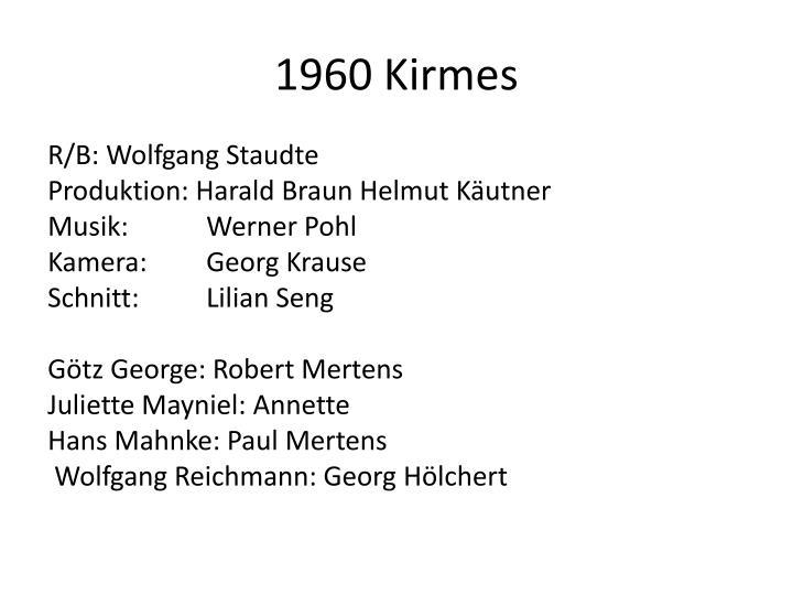 1960 Kirmes