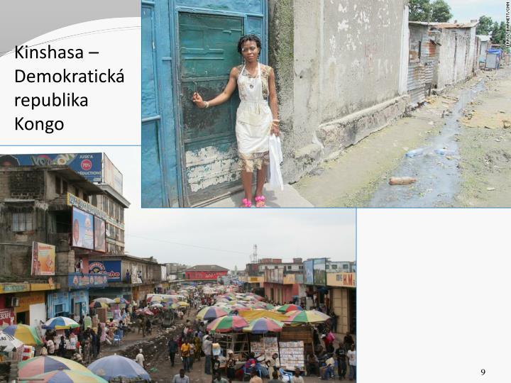 Kinshasa – Demokratická republika Kongo