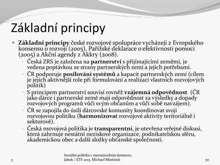 Zkladn principy