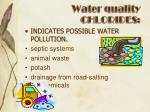 water quality chlorides