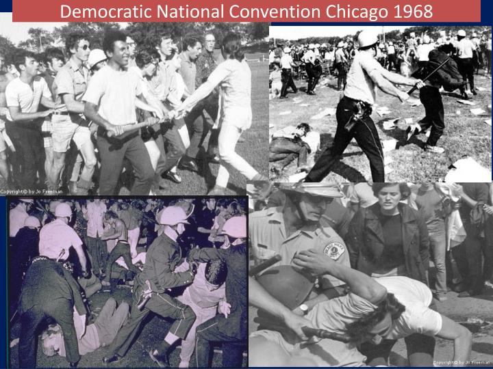 Democratic National Convention Chicago 1968