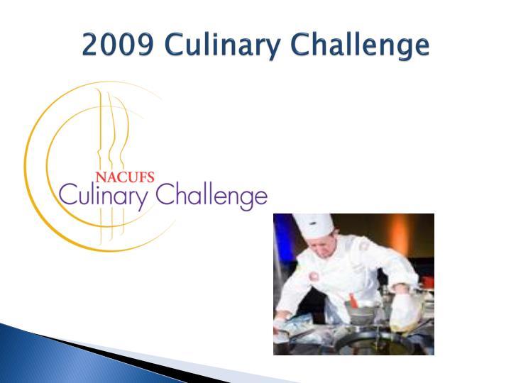 2009 Culinary Challenge