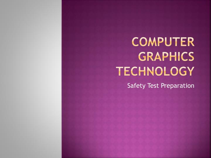 Computer graphics technology