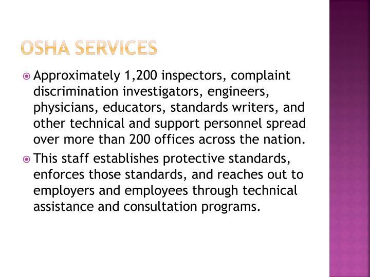 OSHA Services