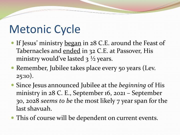 Metonic Cycle