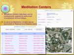 meditation centers