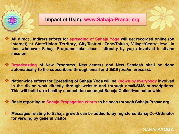 Impact of Using