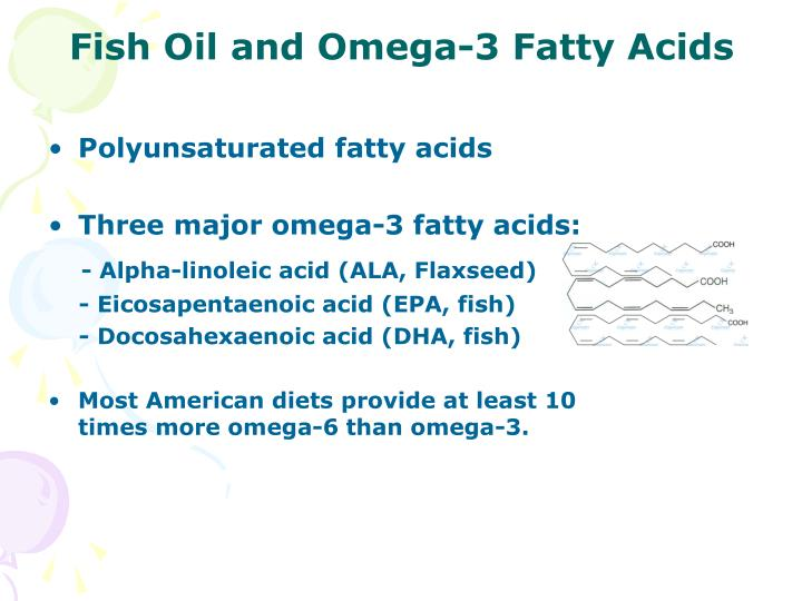 Ppt the benefit and risks of nutritional supplements for Omega 3 fatty acid fish