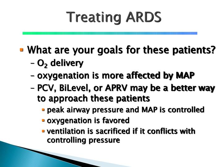 Treating ARDS