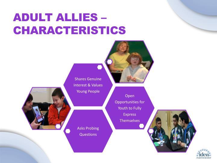 Adult Allies – Characteristics