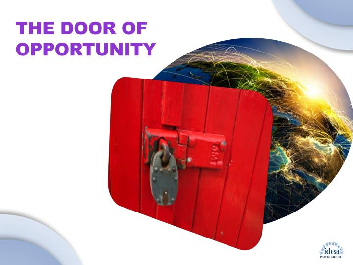 The Door of Opportunity