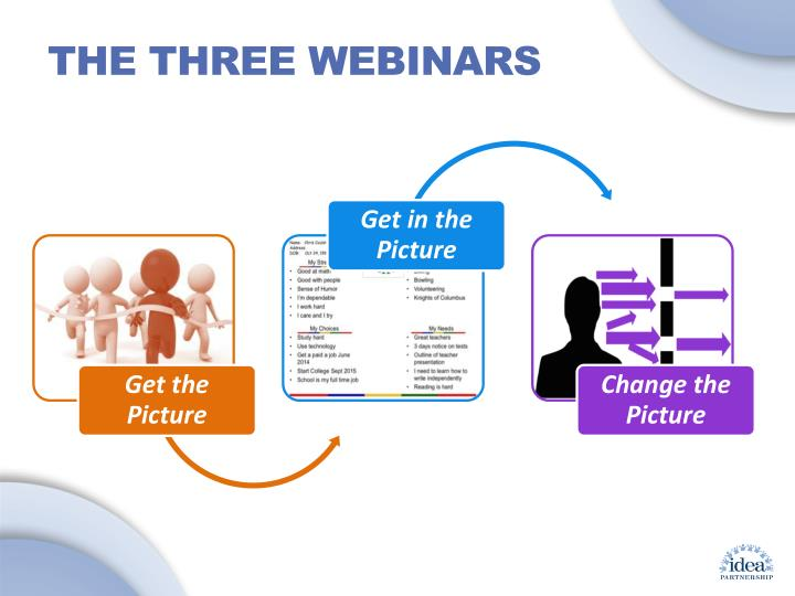 The Three Webinars