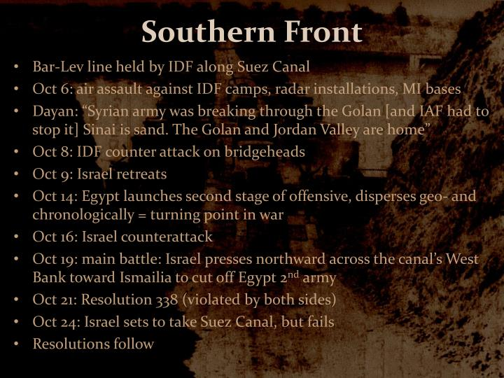 Southern Front