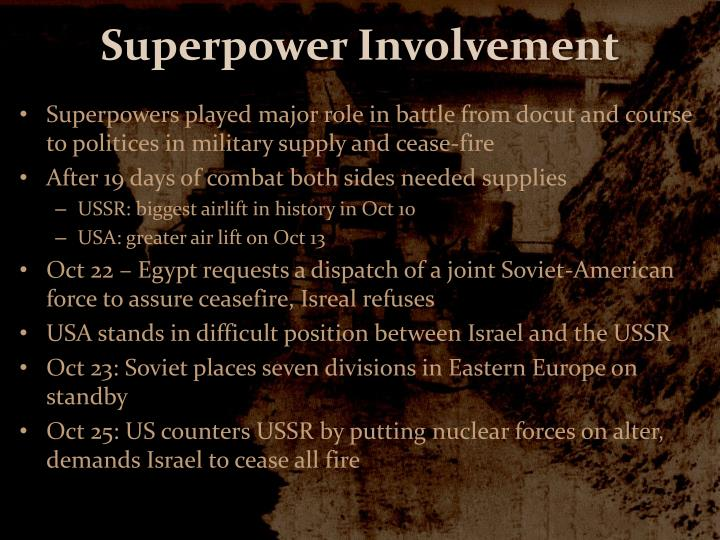 Superpower Involvement