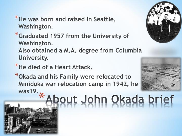 He was born and raised in Seattle, Washington.