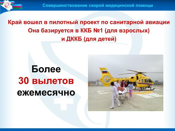 Совершенствование скорой медицинской помощи