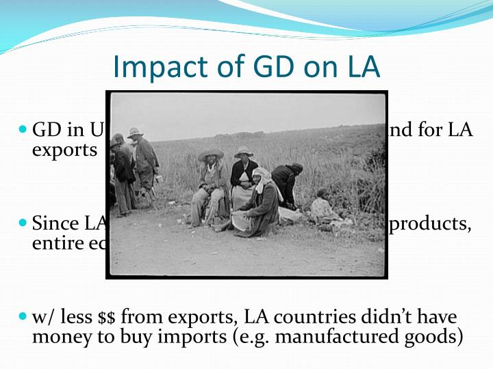 Impact of GD on LA