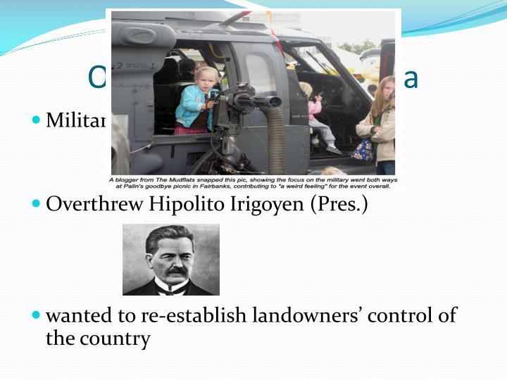 Oligarchy #1: Argentina