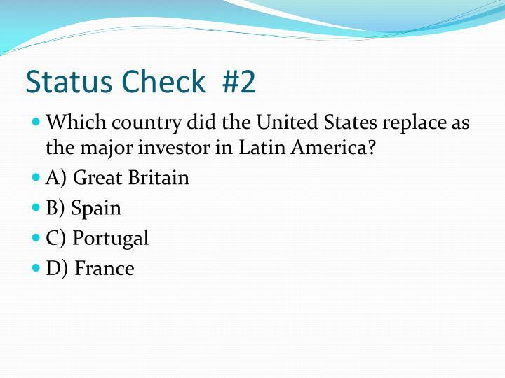 Status Check  #2