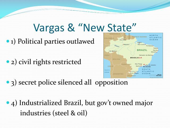 "Vargas & ""New State"""