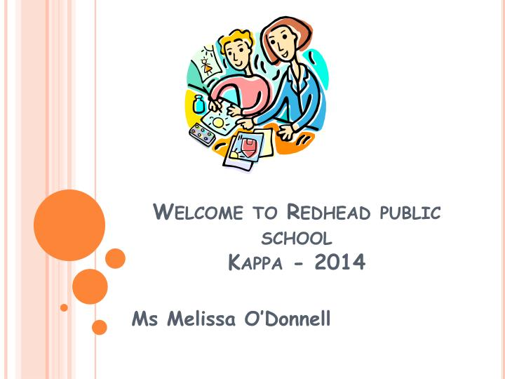 Welcome to Redhead public school
