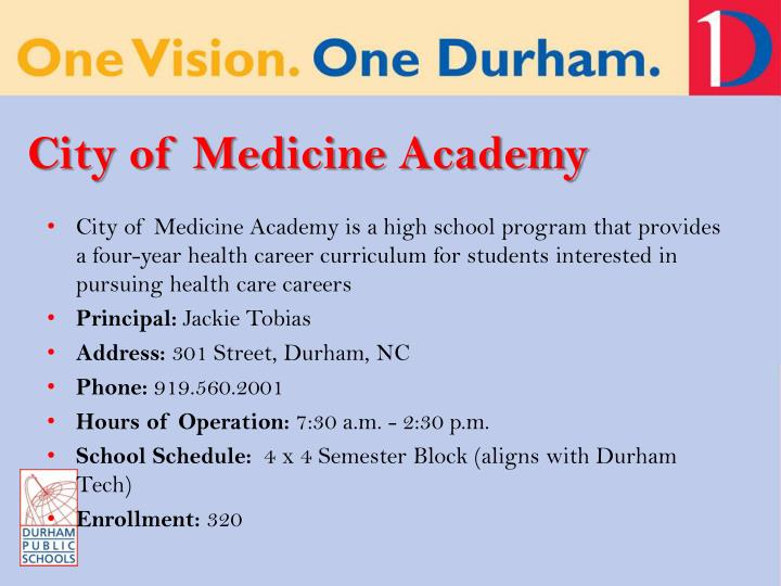 City of Medicine Academy