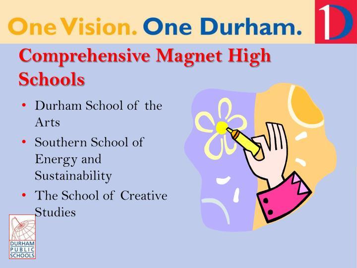 Comprehensive Magnet High Schools