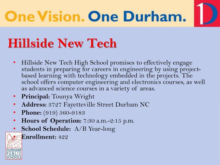 Hillside New Tech