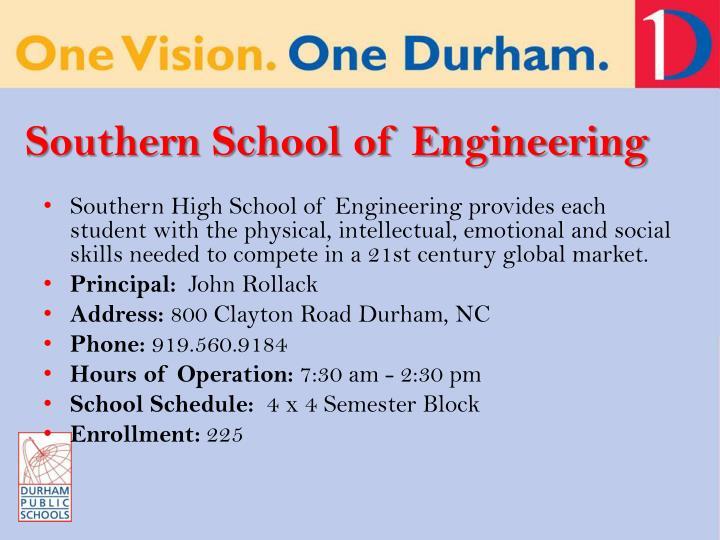 Southern School of Engineering