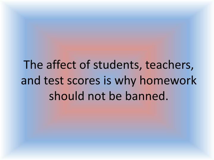 how tests affect the student Teaching to the test: does standardized testing help or harm students and how factors such as race and income affect performance testing facilities perform analyses of student tests at no extra charge.