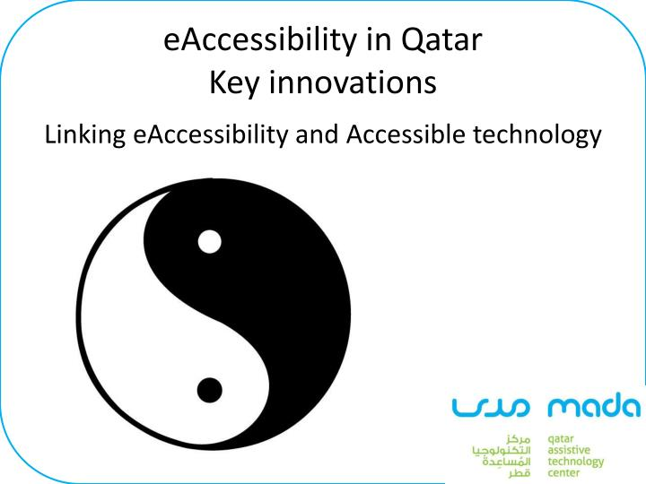 eAccessibility in Qatar
