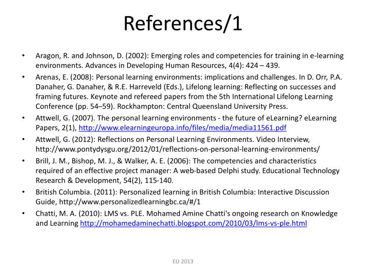 References/1