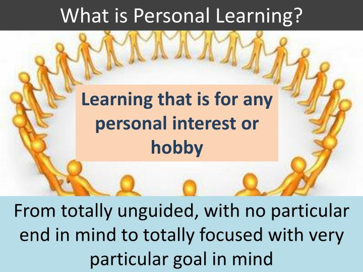 What is Personal Learning?