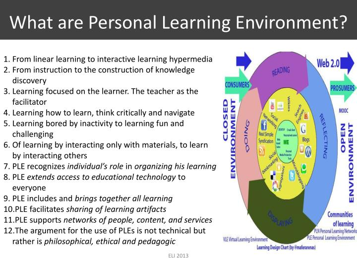 What are Personal Learning Environment?