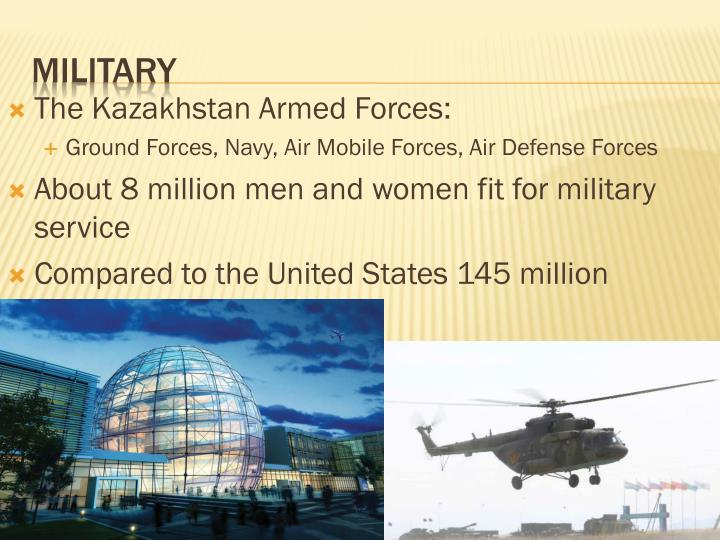 The Kazakhstan Armed Forces: