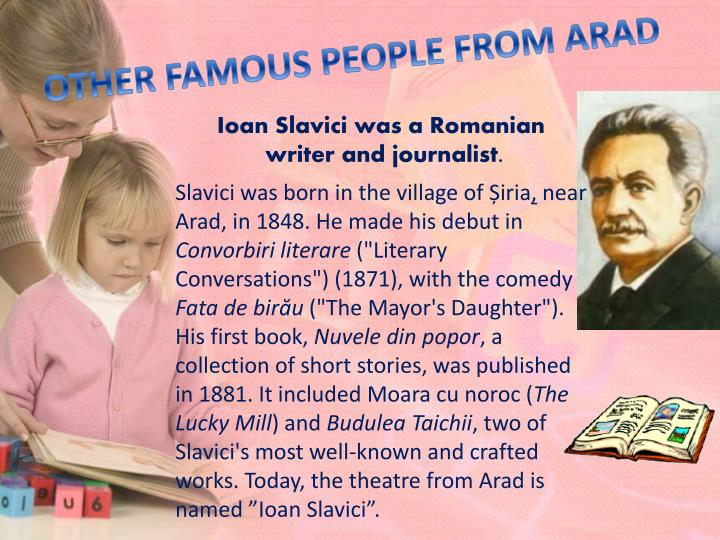 OTHER FAMOUS PEOPLE FROM ARAD