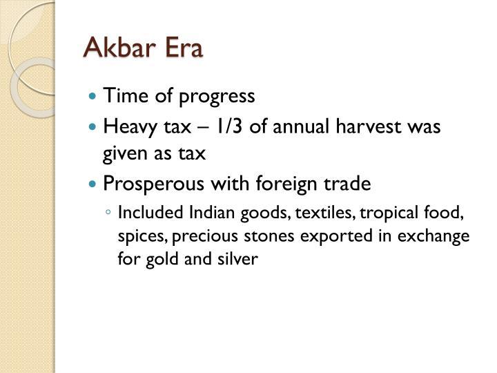 Akbar Era