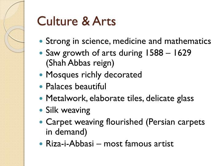 Culture & Arts